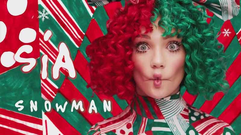 Sia Snowman 2017