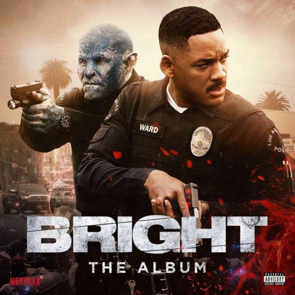 Яркость, обложка альбома с песнями из фильма