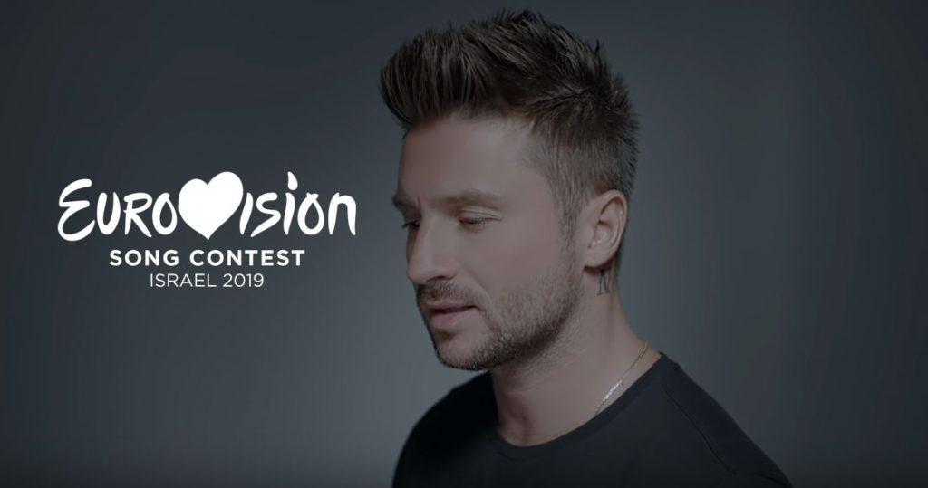 Сергей Лазарев на конкурсе Евровидение 2019